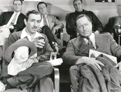 Walt Disney and Robert Benchley