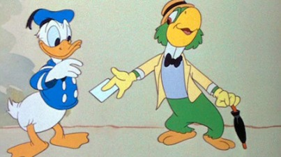 Jose Carioca and Donald Duck