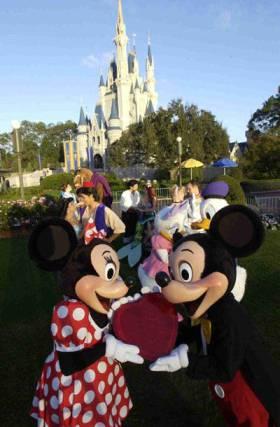 Romance at Walt Disney World