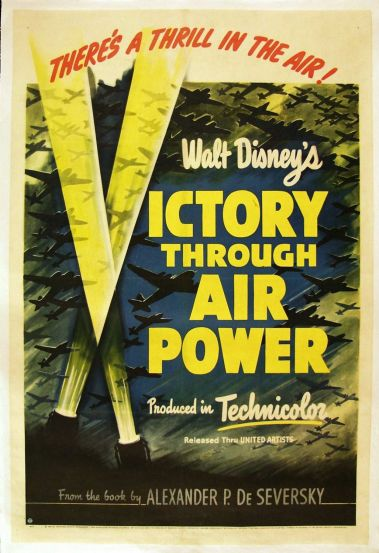 Victory Through Air Power Poster
