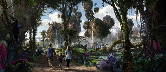 Walking Through Pandora