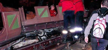 Big Thunder Mountain Railroad derailment