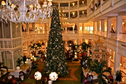 See the decorations at various resorts, like these at the Grand Floridian!