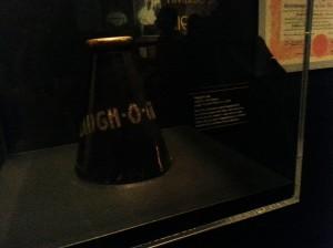 A Laugh-O-Gram Megaphone