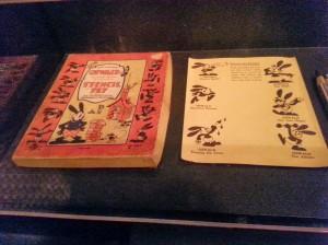A stencil kit of Oswald!