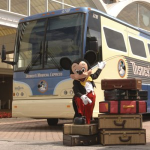 Sadly, this is false advertising. Mickey PROBABLY wont be there to welcome you aboard!