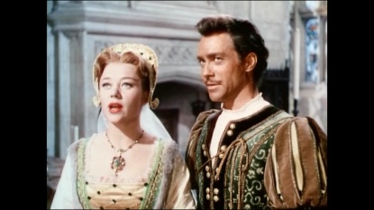 "Richard Todd as ""Charles"" and Glynis Johns as ""Mary"""