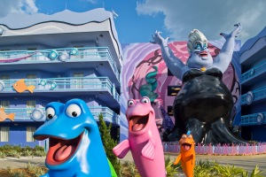 Sing with Ursula at Disney's Art of Animation Resort