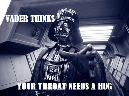 throat hug